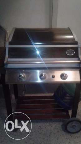 Free delivery 3 burner gas BBQ