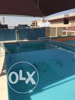 Luxury FF 1-BR Flat in Umm Ghwailina/ Swimming Pool