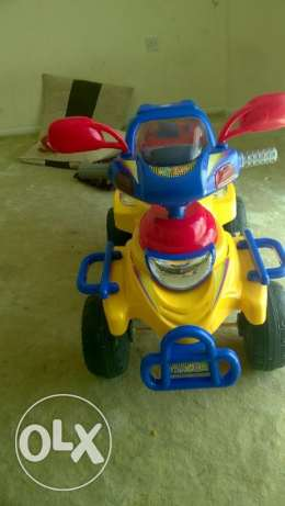 kids qaud battery bike