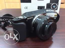 Sony mirror less NEX 3N with E PZ 16-50 Lens F3.5-5.6 OSS, 16.1 MP