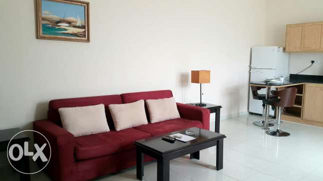 Fully furnished 1BHK in Azizia.