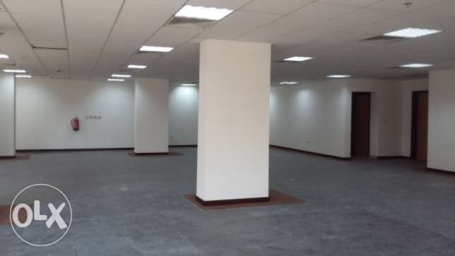 105, 150, 193 sqm Partitioned office space for rent at Doha
