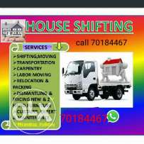 House shifting with carpenter