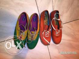 TWO Pairs KEDS original ladies shoes Size EU-39 in excellent condition