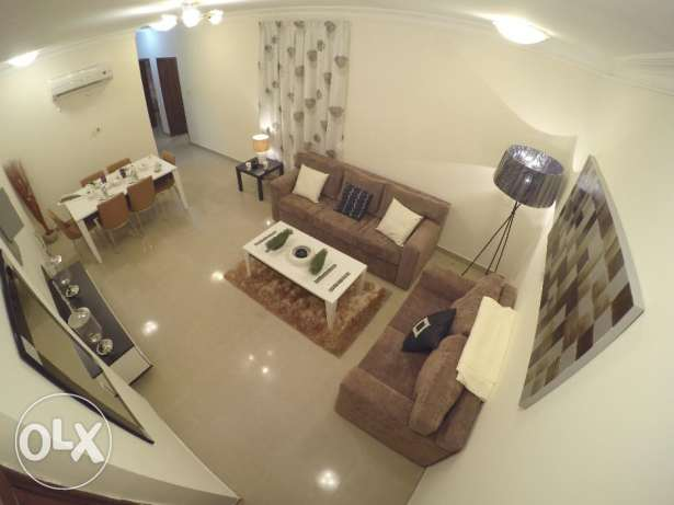 fully furnished 2bedroom flat in doha jadeeda