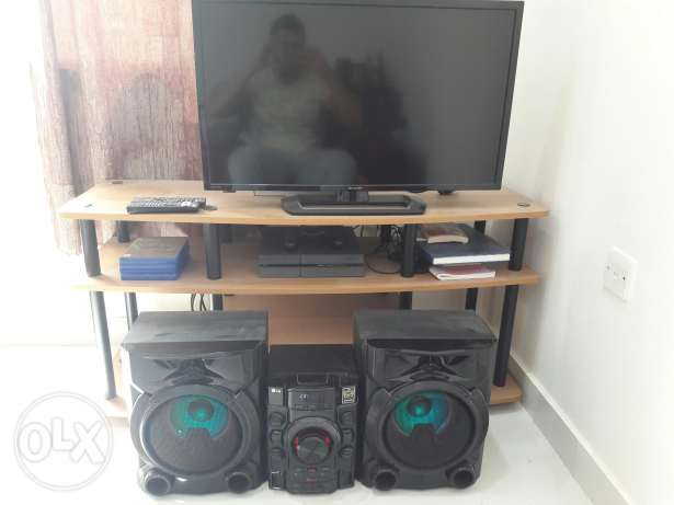 Furniture and electronic for sell.