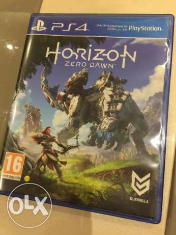 Horizon Zero Dawn PS4 game (used once)