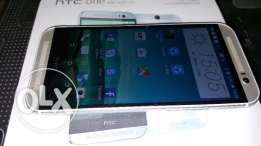 HTC M8 mobile phone with dual sim very good condition