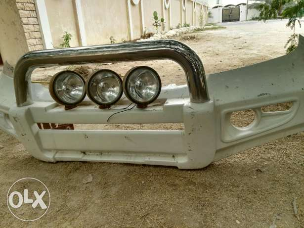 Land cruiser gxr bumper