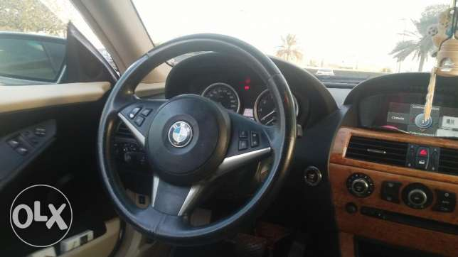 BMW 6 Series 2007 in very good condition for sale أبو هامور -  6