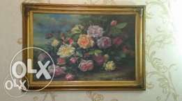 sale for moving - discounted- oil hand paint tableau-