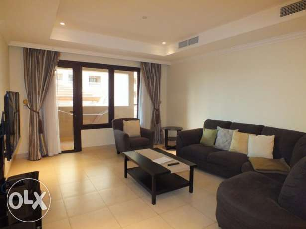 fully furnished one bedroom apartment for rent in pearl
