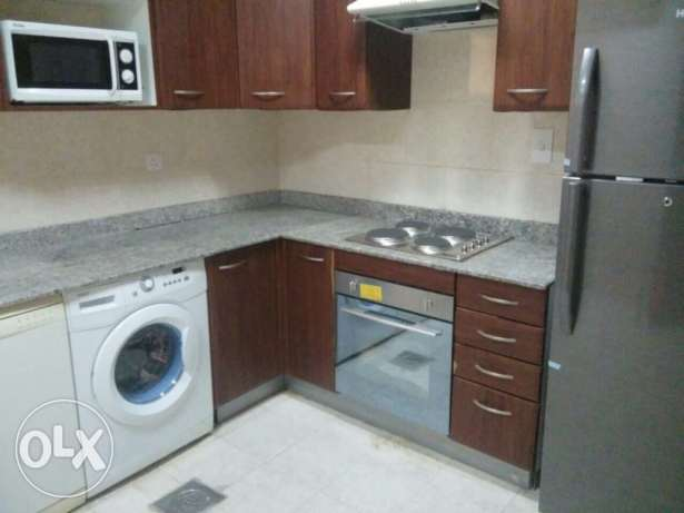 FF 2 BR Flat in AL Nasr,,Gym,Pool+Wifi,Water,Electricity