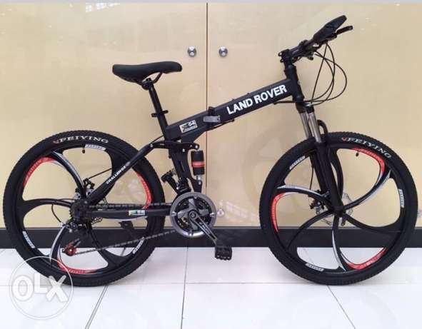 Folding bike with alloy wheel الريان -  1