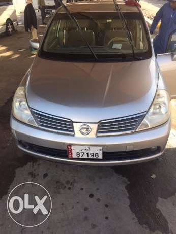 Family used Nissan Tiida 2007 Japan-100008KM