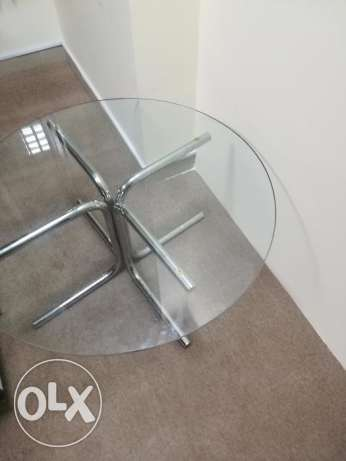Glass stool (Coffee Table) for sale