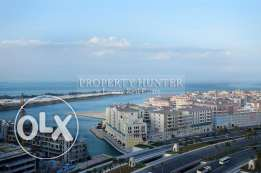 Sea View 2 Bedroom Apartment in The Pearl
