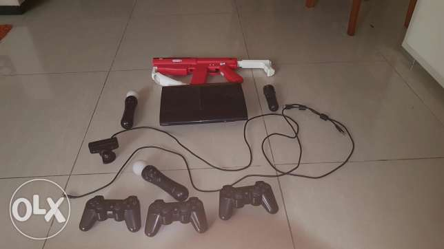 Ps3 with its things