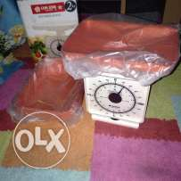 used once small weighing scale same as new for sale for only 25 QR