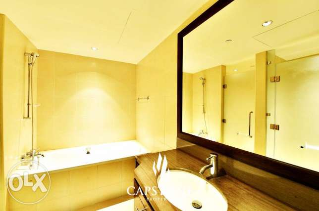 FREE 1 MONTH: 2 Beds + 1 Kid's Playroom, The Pearl Apartment الؤلؤة -قطر -  4