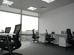 Rent an office in Doha Qatar - West Bay