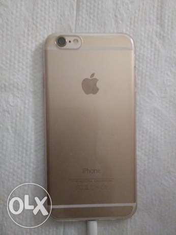 iphone 6 gold like new no scratch