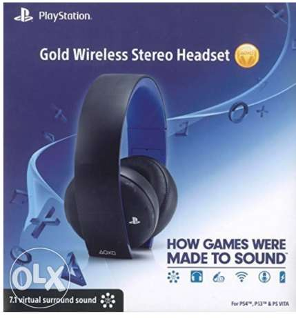 Sell or swap Sony 7.1 Ps4 GOLD Wireless Headset