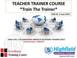 Want to be a Certified teacher or Trainer ?