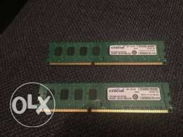 Crucial DDR3 1600Mhz RAM (Computer Memory)