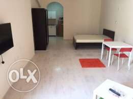 Ready now,-01BHK FF Big Bed room flat Qr.4900/- AL Gharraffa