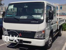 mitsubishi canter 2016 double cap.