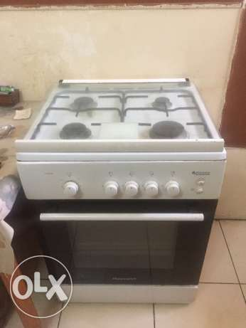 Stove, refregrator, microwave and water Catle