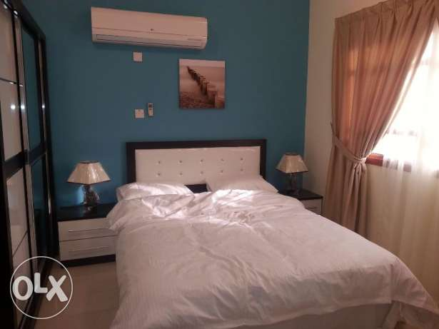 Flat for rent in Al Sakhama 1Bedroom Fully Furnished Inclusive all