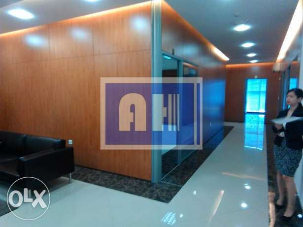 Stunning 8 newly fully furnished offices for rent in Al Sadd