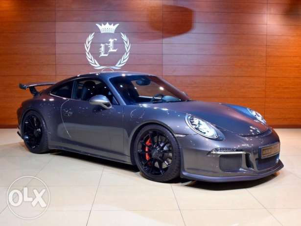 2015 Porsche 911 GT3, Warranty from Dealer, GCC Specs (Sport Exhaust,H