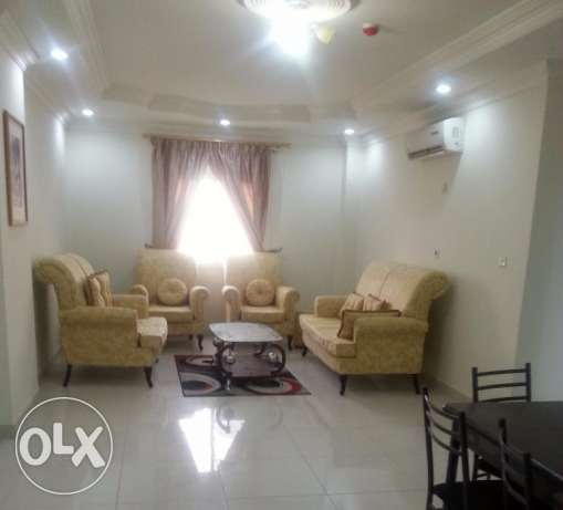 Nice F/F 2 B/R flat near Centre point in Al-Sadd /7000