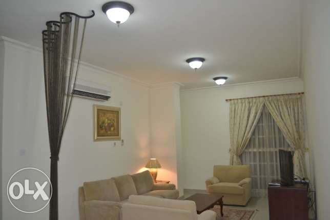 Fully-Furnished 2-Bedroom Flat At -{Bin Mahmoud}-