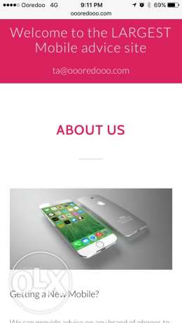 oooredooo.com phone business for 35% share الؤلؤة -قطر -  2