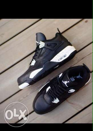 Nike Air Jordan 4 Retro LS OREO