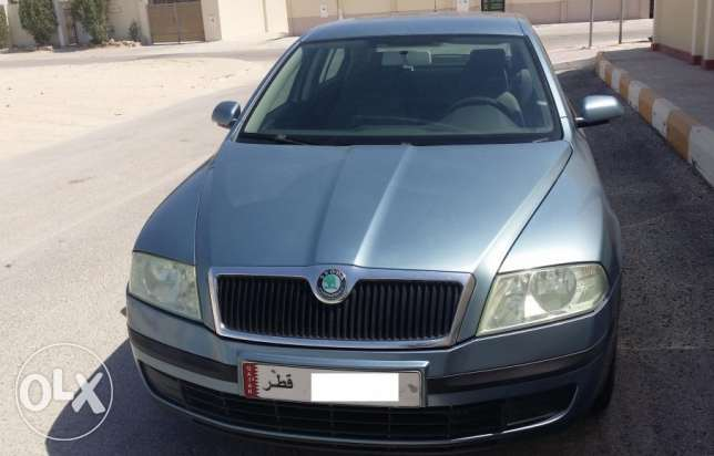 Skoda Superb 2008, Navy Blue