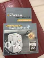 Universal International Adaptor for over 150 countries