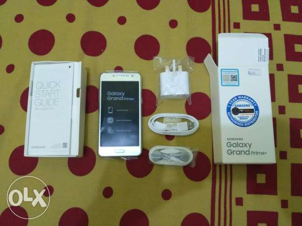 Samsung Galaxy Grand Prime Plus. With box and warranty. Not Used
