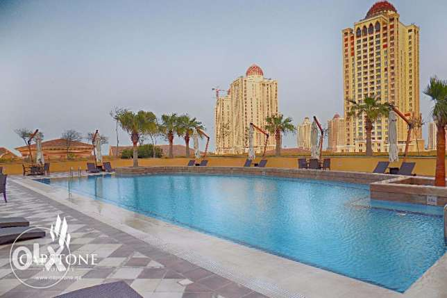 Two Months Free Rent + Free Qatar Cool Charges - Studio at The Pearl
