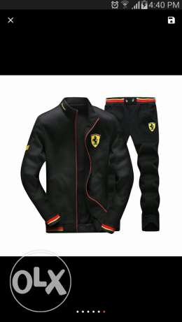F1 Casual sports suit Unisex