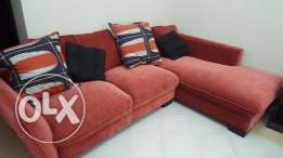 Home centre L sofa