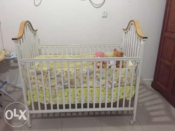 Toddler Bed with orthopedic mattress