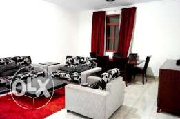 nice fully furnished 2 bedroom apartment in musherib