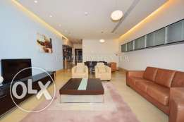 Furnished City view Two bed apartment