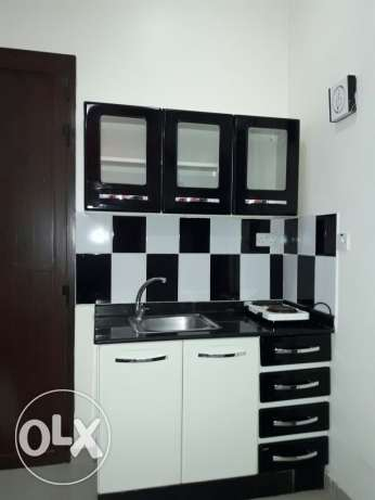 1bedroom open kitchen full furnished apartment in ain khalid for famil