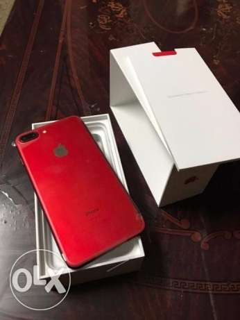 Apple Iphone 7 PlUS 128GB Red Factory Unlocked Brand New